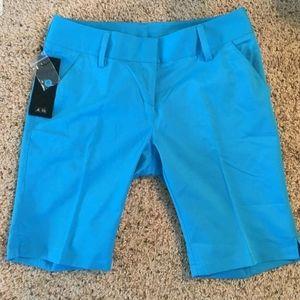 Nwt Adidas ladies golf shorts climate 10 inch 4